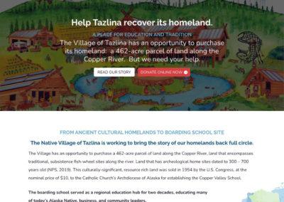 Tazlina Homeland Recovery